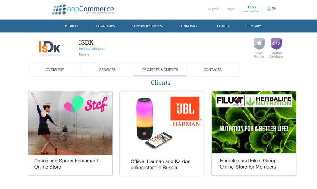 ISDK-nopCommerce-B2B-B2C-Customers-partner