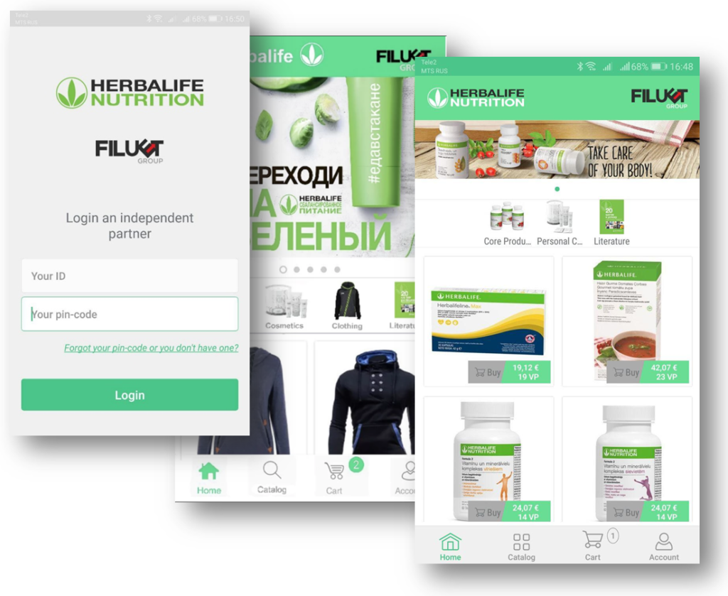 mobile-application-herb-ecommerce
